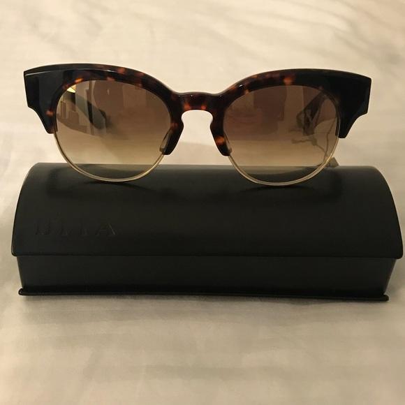 d631d24c76e NIB Dita Liberty Cat Eye Mirrored Sunglasses